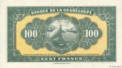 100 Francs type américain GUADELOUPE  1942 P.23s NEUF