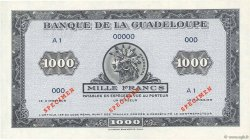 1000 Francs type américain GUADELOUPE  1942 P.26As NEUF