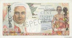 100 Francs La Bourdonnais SAINT PIERRE ET MIQUELON  1946 P.26s NEUF
