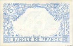 5 Francs BLEU FRANCE  1915 F.02.32 pr.SPL