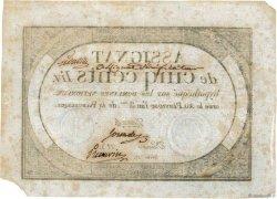 500 Livres vérificateur FRANCE  1794 Ass.47b TTB