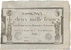 2000 Francs FRANCE  1795 Ass.51a SUP+