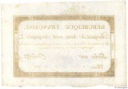 250 Livres FRANCE  1793 Ass.45a NEUF