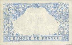5 Francs BLEU FRANCE  1912 F.02.02 TTB+