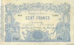 100 Francs type 1862 Indices Noirs FRANCE  1881 F.A39.17 TTB