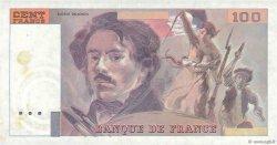 100 Francs DELACROIX FRANCE  1978 F.69.00 SUP