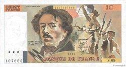 100 Francs DELACROIX modifié FRANCE  1984 F.69.08b NEUF