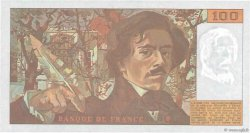 100 Francs DELACROIX imprimé en continu FRANCE  1991 F.69bis.04b NEUF