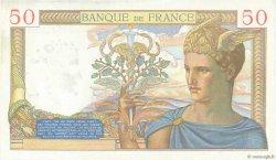50 Francs CÉRÈS modifié FRANCE  1939 F.18.31 pr.NEUF