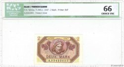 2 Mark SARRE FRANCE  1947 VF.45.01 NEUF