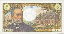 5 Francs PASTEUR FRANCE  1966 F.61.01 pr.NEUF