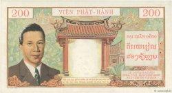 200 Piastres - 200 Dong INDOCHINE FRANÇAISE  1953 P.109 pr.SPL