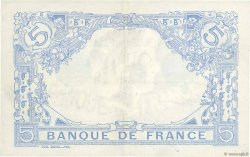 5 Francs BLEU FRANCE  1915 F.02.29 TTB+