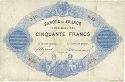 50 Francs type 1868 Indices Noirs FRANCE  1869 F.A38.03 B
