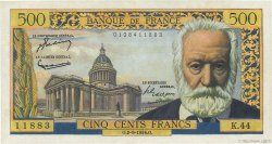 500 Francs VICTOR HUGO FRANCE  1954 F.35.03 SUP+
