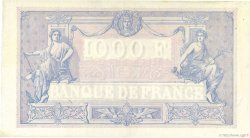 1000 Francs BLEU ET ROSE FRANCE  1924 F.36.40 TTB+