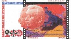 200 Francs FRÈRES LUMIÈRE FRANCE  1990 F.75 NEUF