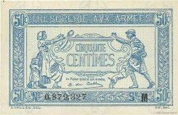 50 Centimes TRÉSORERIE AUX ARMÉES FRANCE  1917 VF.01.13 SPL+
