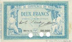 2 Francs FRANCE régionalisme et divers MARSEILLE 1914 JP.079.26 TTB