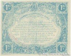 1 Franc FRANCE régionalisme et divers Nîmes 1915 JP.092.07 pr.NEUF