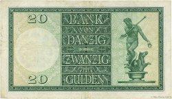 20 Gulden DANTZIG  1937 P.63 pr.TTB