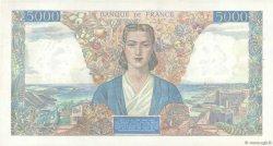 5000 Francs EMPIRE FRANÇAIS FRANCE  1945 F.47.14 SUP