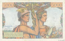 5000 Francs TERRE ET MER FRANCE  1952 F.48.06 pr.NEUF