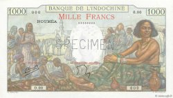 1000 Francs NOUVELLE CALÉDONIE  1952 P.43b vars NEUF