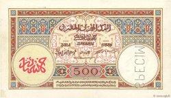 500 Francs type 1923 MAROC  1923 P.15s pr.SPL