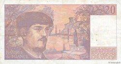 20 Francs DEBUSSY FRANCE  1986 F.66.07 pr.TTB