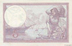 5 Francs VIOLET FRANCE  1933 F.03.17 pr.SPL