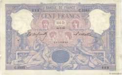 100 Francs BLEU ET ROSE FRANCE  1899 F.21.12 TB