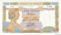 500 Francs LA PAIX FRANCE  1942 F.32.28 pr.NEUF