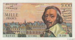 1000 Francs RICHELIEU FRANCE  1956 F.42.19 SPL+