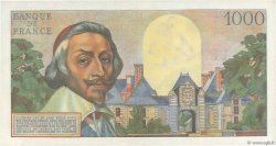 1000 Francs RICHELIEU FRANCE  1957 F.42.25 SPL+