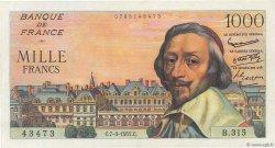 1000 Francs RICHELIEU FRANCE  1957 F.42.25 pr.NEUF