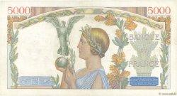 5000 Francs VICTOIRE Taille Douce FRANCE  1935 F.44.03 pr.TTB