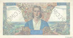 5000 Francs EMPIRE FRANÇAIS FRANCE  1942 F.47.00 SUP