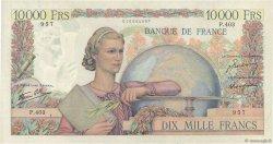10000 Francs GÉNIE FRANÇAIS FRANCE  1946 F.50.17 pr.TTB