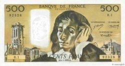 500 Francs PASCAL FRANCE  1968 F.71.01 pr.SPL