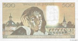 500 Francs PASCAL FRANCE  1993 F.71.52a pr.TTB