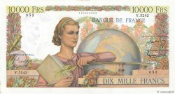 10000 Francs GÉNIE FRANÇAIS FRANCE  1953 F.50.67 TTB+