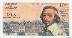 10 Nouveaux Francs RICHELIEU FRANCE  1960 F.57.07 pr.SPL
