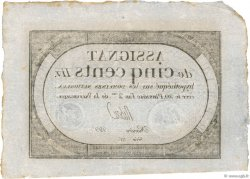 500 Livres FRANCE  1794 Ass.47a SUP