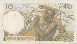 10 Francs AFRIQUE OCCIDENTALE FRANÇAISE (1895-1958)  1953 P.37 SUP