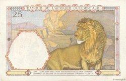 25 Francs AFRIQUE OCCIDENTALE FRANÇAISE (1895-1958)  1938 P.22 SUP+