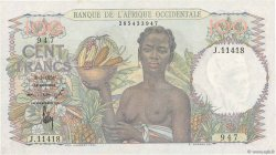 100 Francs FRENCH WEST AFRICA  1951 P.40 SPL+