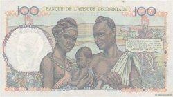100 Francs AFRIQUE OCCIDENTALE FRANÇAISE (1895-1958)  1951 P.40 SUP+
