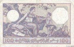 100 Francs type 1920 ALGÉRIE  1936 P.081b pr.TTB