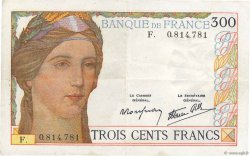 300 Francs FRANCE  1938 F.29.01 VF
